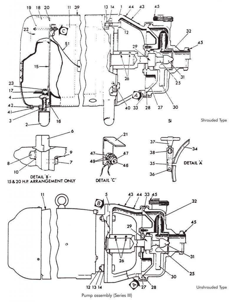 APV series III Puma Pump schematic