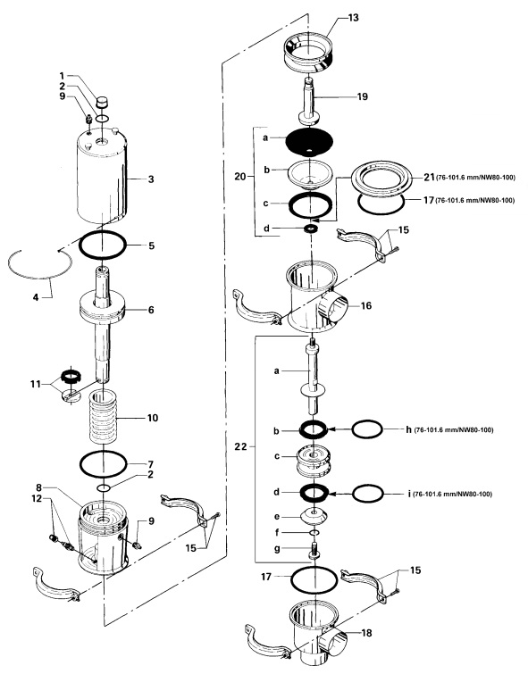 Alfa Laval ARC Aseptic Remote Controlled Valve Diagram Change Over Valve
