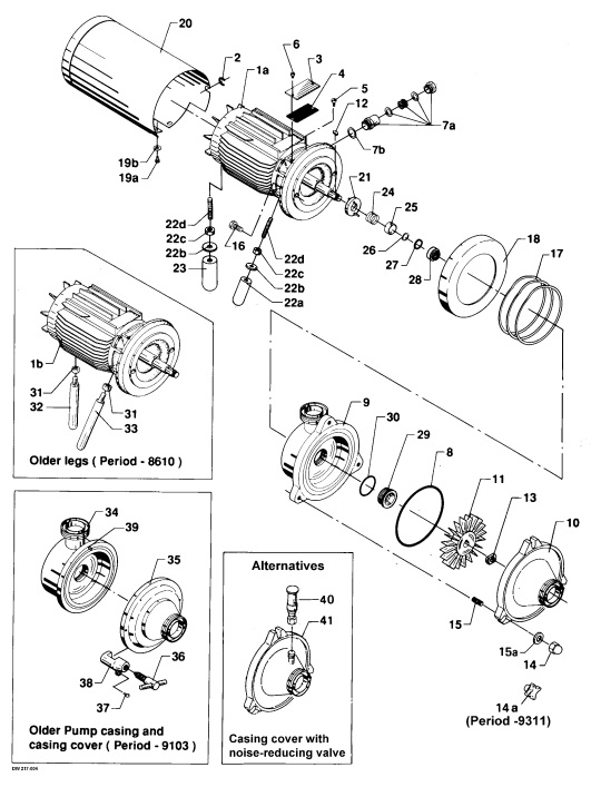 Alfa Laval R-166B Liquid Ring Pump